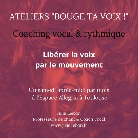 Bouge ta voix atelier Julie Liébon