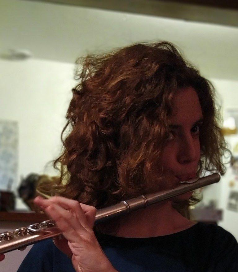 Claire Lenoel flute tarversiere